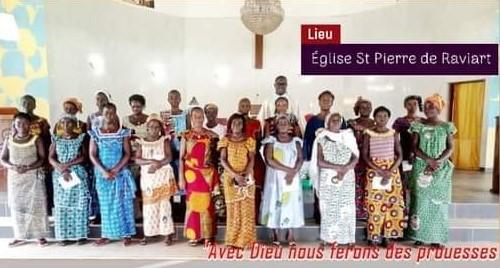 Reportage Jubilé des Femmes Catholiques de la Paroisse St Pierre de RAVIART
